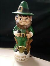 Leprechaun Irish Whiskey decanter vintage estate find