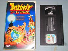 Asterix Et Les Indiens (VHS)(French)  Testé Clamshell