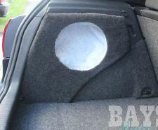 EMPTY! Volkswagen Golf R GTI Mk5 Mk6 10inch sub fibreglass subwoofer box