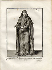 ANCIENNE RELIGIEUSE DE L'HOPITAL DE Ste CATHERINE à PARIS