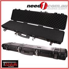 TSUNAMI Hunting Rifle Shot Gun Carry Case 125 x 29 x 13cm Waterproof Hard PVC.