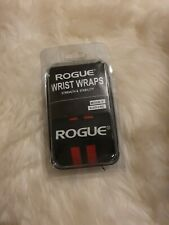 "Rogue Fitness Wrist Wraps Medium 18"" Black/Red Power Weightlifting Crossfit"