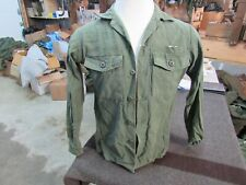 US GI Sateen Utility shirt Vietnam era original OG107  (SH7)