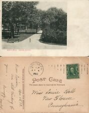 INDIANA NORMAL PA NORTH WALK 1908 ANTIQUE POSTCARD