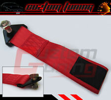 JDM ACURA INTEGRA RSX DC 5 TYPE-S GS GSR RACING TRACK RED TOWING TOW STRAP ROPE