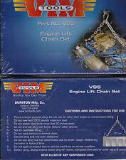 "VIM V95 Engine Lift Loop & Chain 28"" Long, in Blue Plastic Case"