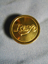 Rayo Oil Lamp Replacement Solid Brass Screw in Oil Fill Cap