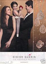 Publicité 2014 - Bijoux Didier GUERIN