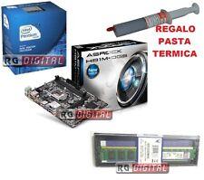 Potenziamento PC Intel G3220 1150 3 GHz AsRock H81m-dgs 4gb RAM Pasta omaggio