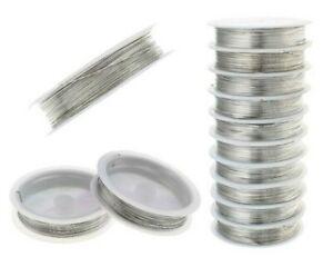 Kupferdraht Silber Schmuckdraht Basteldraht 0,2/0,3/0,4/0,5/0,6mm Grösse Wahlen