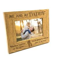 Together Or Far Apart Dad Wooden Photo Frame Gift FW199