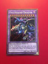 Yugioh Five-headed Dragon Gold Ultra Rare 1st Edition PGL2-EN078