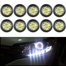 10X 15W White Eagle Eye Car LED Rock Daytime Reverse Backup Running Light 12SMD