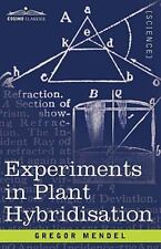 EXPERIMENTS IN PLANT HYBRIDISATION - MENDEL, GREGOR - NEW PAPERBACK BOOK