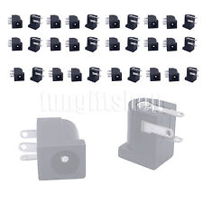 30pcs 5.5x2.1mm DC Power Supply PCB Mount Female Jack Socket Connector 3 pin