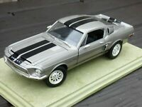 FORD MUSTANG 1968 SHELBY GT 500KR COBRA 428 1:18 TOY Car Gone In 60 Seconds