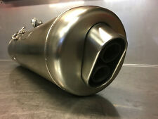BMW F800S F800 S 12/2008 Exhaust Silencer Auspuff End Can