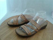Dr. Scholl's Gel-Pack Insoles Slip-On Flip Flop Sandals Slides Shoes Size 7