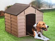 Plastic Durable Outdoor Dog Kennel Shelter