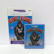 King Kong + Manual ATARI 2600 Game Cartridge Tested + Working