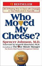 Who Moved My Cheese?, by Spencer Johnson, VG hardcover book