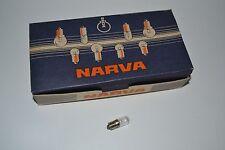 10 Stück Narva Zwerglampe MZL Glühbirne 12V 0,1 A