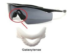 Galaxy Nose Pads Rubber Kits For Oakley M Frame Hybrid/Heater/Sweep/Strike White