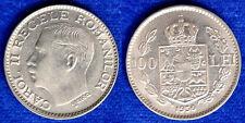 100 Lei 1936 Carol II Romania Q.Fdc A.Unc #2714