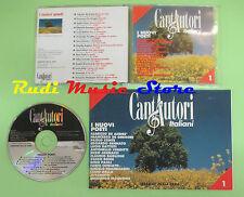 CD CANTAUTORI ITALIANI 1 compilation PROMO 95 CONTE CONCATO DE GREGORI (C16*)