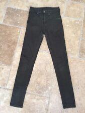 Carmar LF Stores Khaki High Waisted Skinny Stretch Jeans Sz 25
