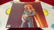 NEIL DIAMOND - HOT AUGUST NIGHT - ORIGINAL UK DOUBLE LP IN GATEFOLD SLEEVE