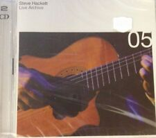 STEVE HACKET (GENESIS)- LIVE ARCHIVE 05 *CD 2PZ NEW SEALED NUOVO SIGILLATO RARO