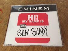 New Unplayed Promo Europe Import Eminem My Name Is CD Single 495 638-2