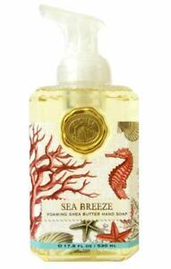 *MICHEL DESIGN WORKS Foaming SHEA BUTTER Liquid HAND SOAP ~ SEA BREEZE