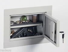 Stack On In Wall Hidden Security Gun Pistol Vault Safe Storage Cabinet Security