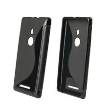 New Fashion S-Line Rubber Soft TPU Case Gel Cover For Nokia Lumia 925 Salable