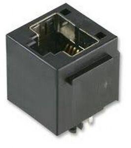 Socket RJ12 6 Way Jack 6P6C Vertical 6Way part SS6566FLS Modular Unshielded