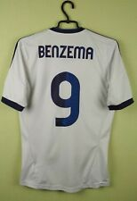 Benzema jersey Real Madrid SMALL 2012/13 Home WHITE men's adidas soccer football