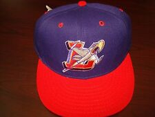 MINOR LEAGUE BASEBALL PRO LINE JETS ROCKETS   FITTED SZ 7 3/8  HAT CAP VINTAGE