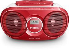 Philips Boombox Numérique & Radio Fm Lecteur CD MP3 Lien Stéréo Haut Parleurs
