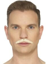The Pencil Moustache Army Gentleman Hand Knotted Mens Fancy Dress Accessory