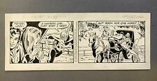 Spider-Man Daily Strip 3-28-02, Original art by Larry Lieber, Writer Stan Lee