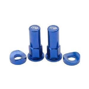 Tusk Rim Lock Nut / Spacer Kit Set Blue HONDA YAMAHA KAWASAKI SUZUKI MX Enduro