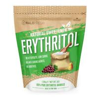Erythritol Sweetener Natural Sugar Substitute 3lb - Granulated Low Calorie