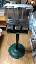 3 HEAD GUMBALL CANDY VENDING PRIZE ARCADE MACHINE