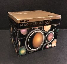 Nikon AF Nikkor 24-120mm f/3.5-5.6D IF Camera Lens - EMPTY BOX ONLY (NO LENS)