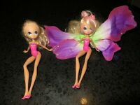 "Barbie Thumbelina Janessa 7"" Dolls Mattel"