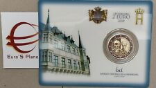 Coin card 2 euro 2019 Lussemburgo Luxembourg Luxemburg Charlotte Brücke ponte