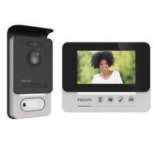 "Philips WelcomEye Compact Videocitofono 2 Fili Monitor 4,3""  Pulsantiera Esterna"