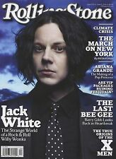 NEW Rolling Stone Magazine Jack White 2014 USA Newsstand Edition No Label
